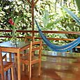 Dining Area and Hammock